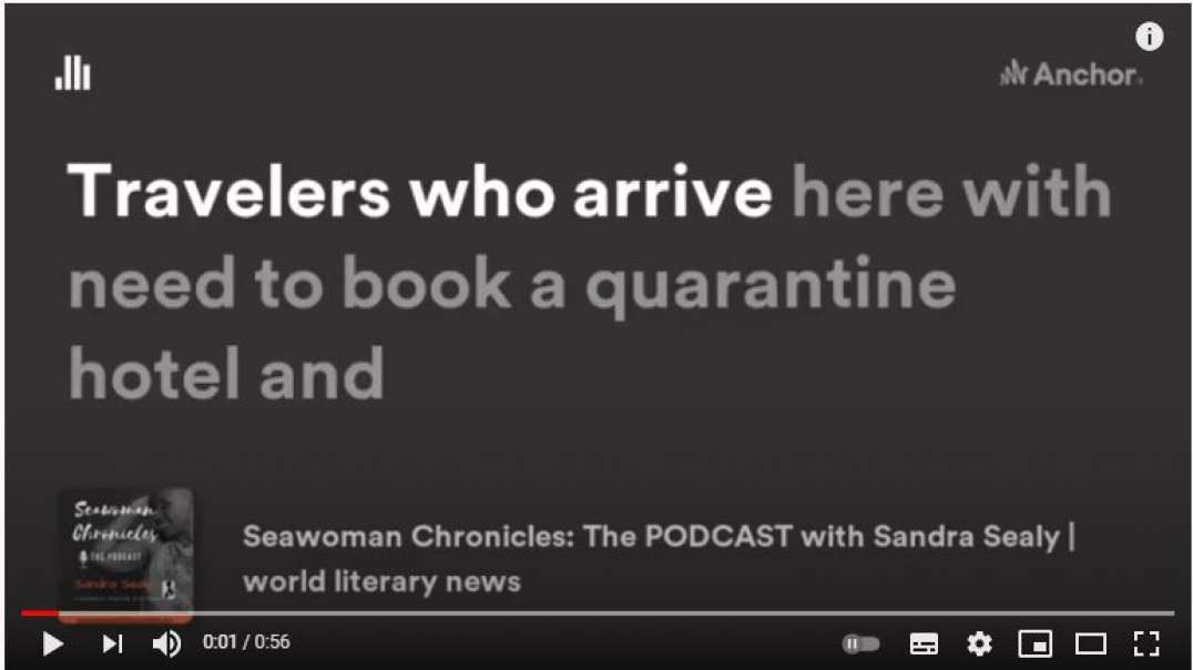 "Seawoman Chronicles: The Podcast: S01E02 Vid Tease - Andrea Lo ""On COVID In Barbados"""